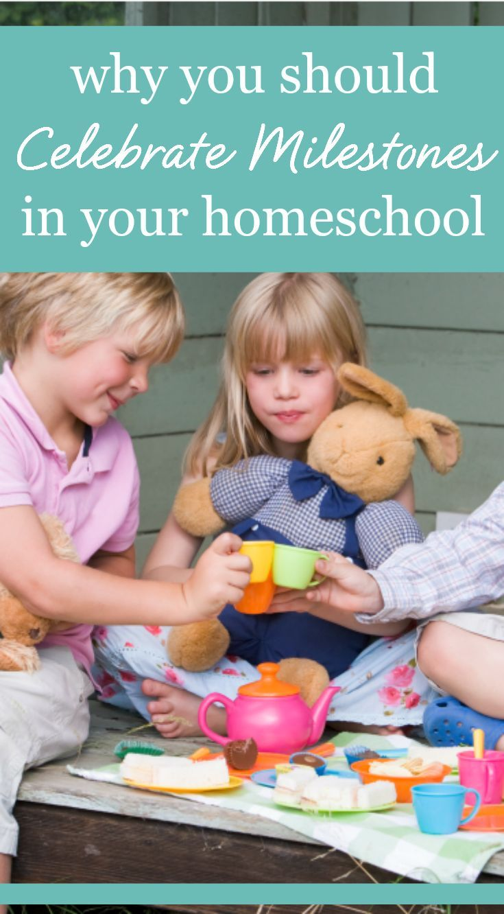 Why you should celebrate milestones in your homeschool Bright Ideas Press