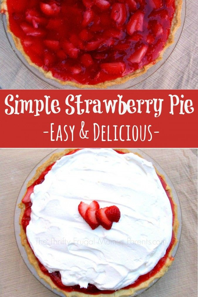 When I was growing up, our family always eagerly awaited strawberry season because that meant we'd have lots of strawberry shortcake…. and this delicious strawberry pie! We all thought Mom made the best strawberry pie and the sight of it on the dinner table was met with lots...