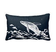 Les étoiles whale art souple brillant taie d'oreiller taie d'oreiller couverture ( jumelles sides ) 40 x 60 cm 45 x 45 cm(China (Mainland))