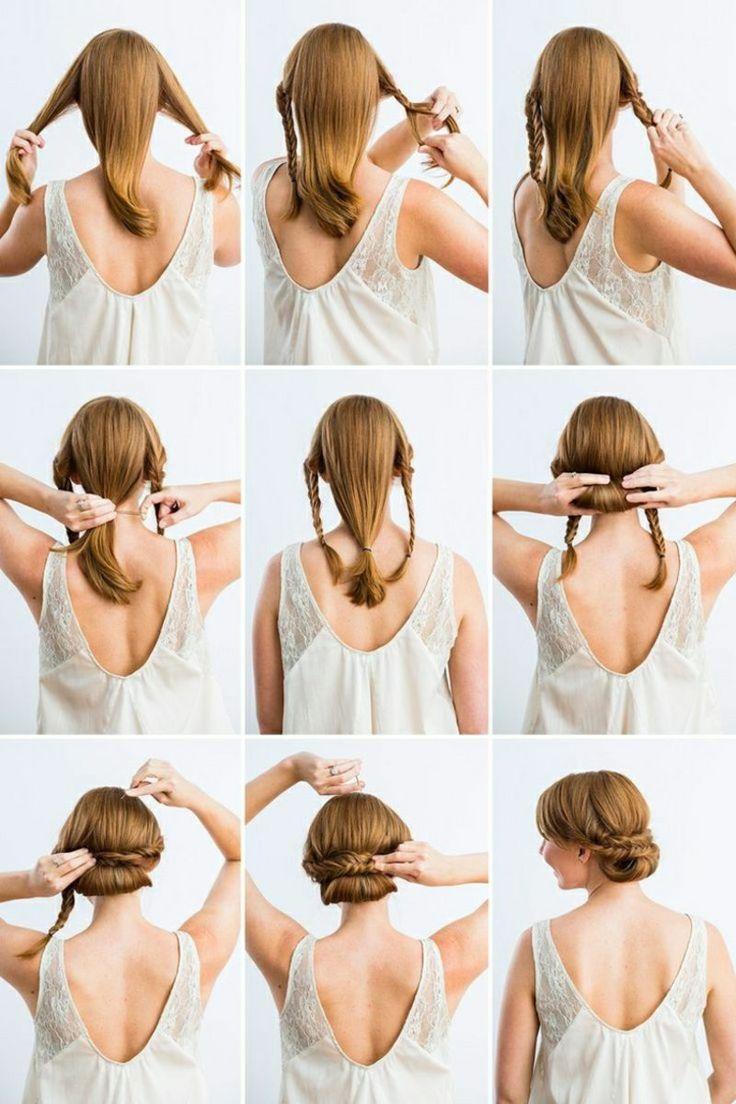 Schnelle Frisuren für jeden Tag, die nur in 3 Minuten fertig werden