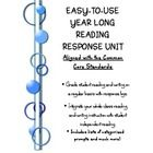 The Reading Response Log is aligned with the Common Core Standards and can be a year-long activity.  Regularly use this simple format to check stud...