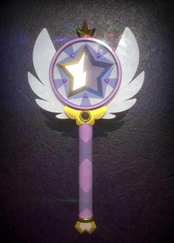 Star Butterfly wand, displate metal canvas for sale… #displate #siriusreno #starvstheforcesofevil