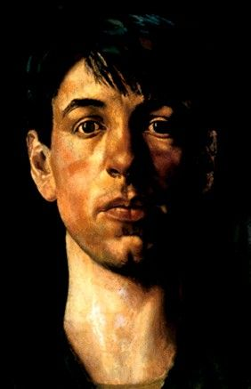 Stanley Spencer, Self portrait 1914