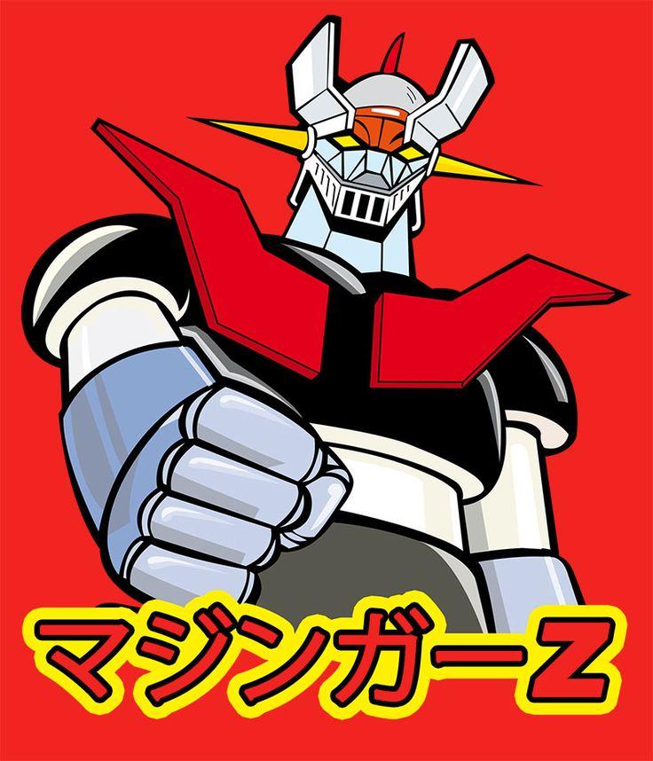 Camiseta niño Mazinger Z. Japonés