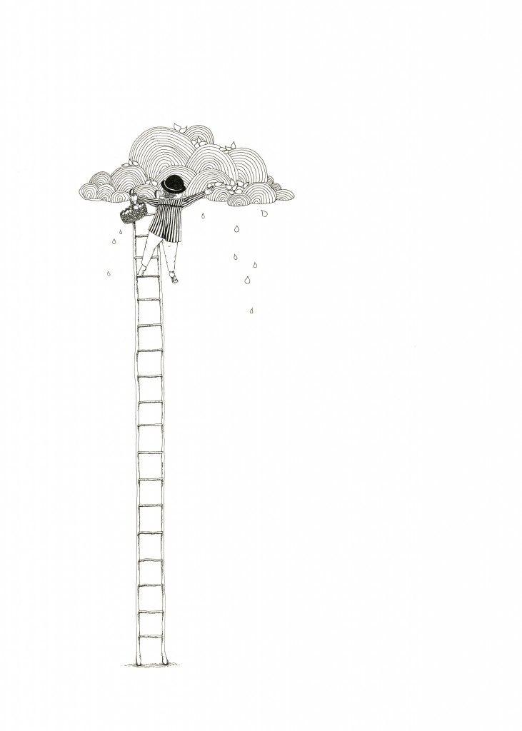 Rain drop collector by Mia Olofsson
