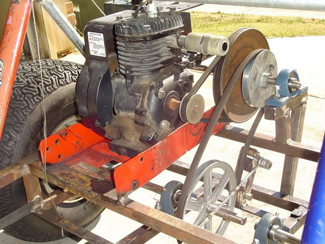 Home Made Tractor Clutch : Lawn mower engine in go kart google search isaac