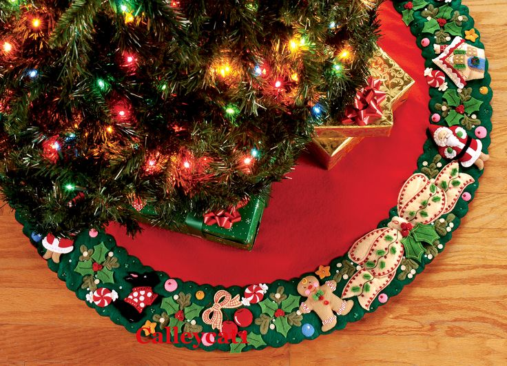 christmas tree skirt - Cerca con Google