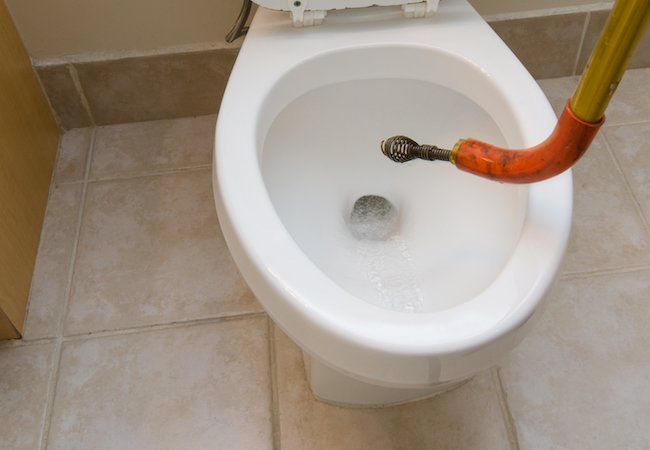 How To Snake A Toilet Clogged Toilet Diy Plumbing Toilet Repair
