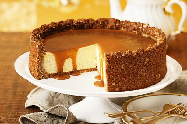Golden syrup Anzac cheesecake main image
