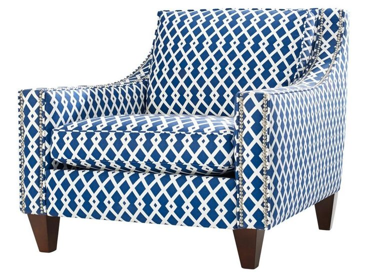 Remarkable Blue Accent Chairs For Living Room Wallpaper Lollagram Regarding Blue And White Accent Chair