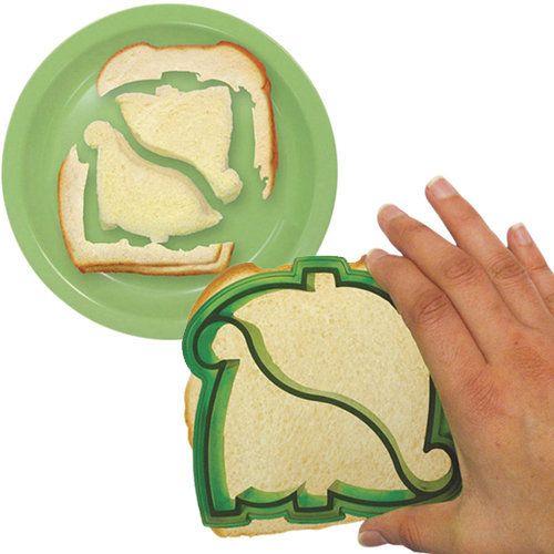 DYNOBYTES DINOSAUR SANDWICH CUTTER