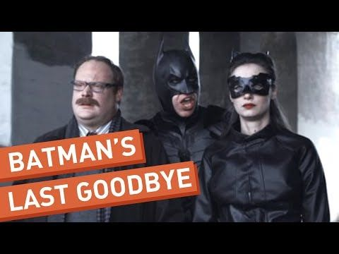 Batman Says His Goodbyes - YouTube
