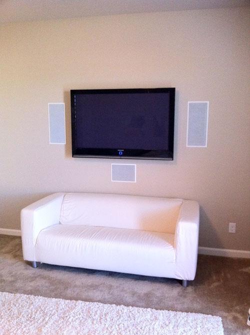 speakers in wall. in wall speakers