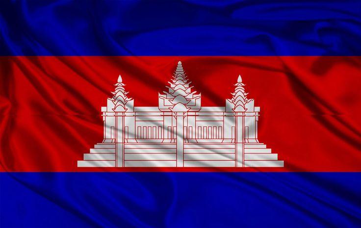Cambodia Flag Wallpaper