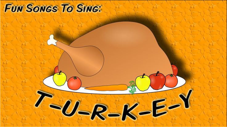 T-U-R-K-E-Y (tune of B-I-N-G-O) | fun Thanksgiving song for kids