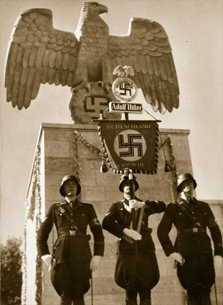 """German soldiers from """"Germany: The Olympic year"""", pub. by Volk und Reich Verlag Berlin 1936"""