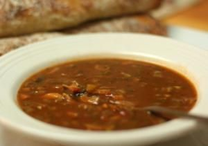 """Mock Turtle Soup Recipe courtesy of """"New Orleans Cookbook"""" by Williams Sonoma"""