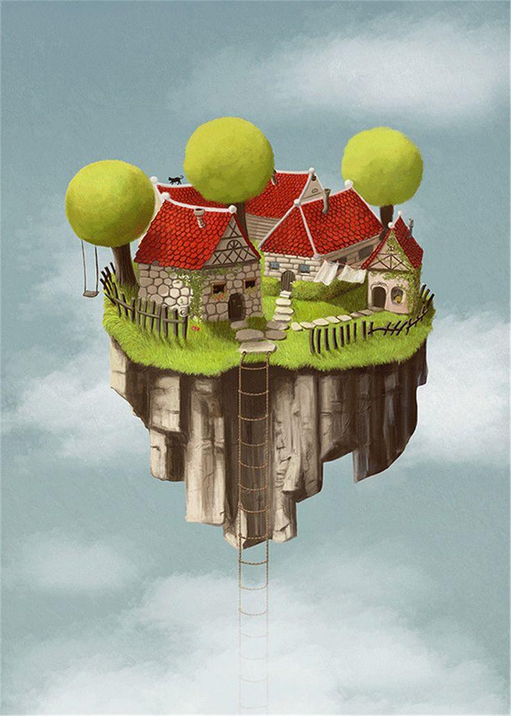 Colorhood - Dream Tower by Anda Cofaru