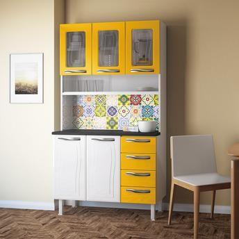 armario-para-cozinha-colormaq-ipanema-branco-e-amarelo.jpg (344×344)