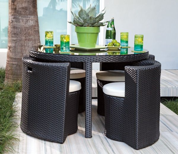 37++ Small wicker outdoor dining set Top