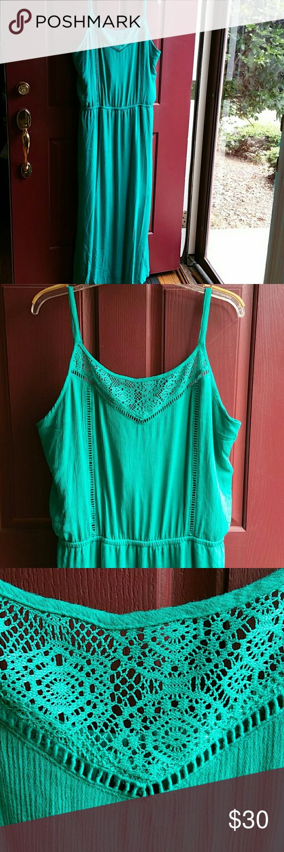 BOGO Turquoise Maxi Dress NWT Buy One Item and Get ONE Item FREE. FREE items same value or LESS  Very Simple....  BUNDLE BOTH ITEMS AND OFFER ME THE PRICE OF THE MOST EXPENSIVE....  Excludes Mannequins... Rue+ Dresses Maxi
