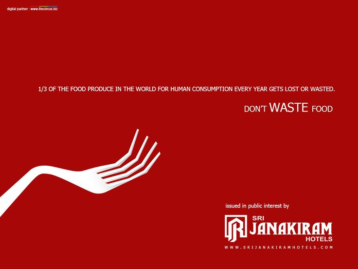 Its not cool when you waste your food, when one of every seven people on the planet will go to bed tonight with an empty stomach. Please Don't Waste Food. Issued by public interest.  Follow us on Google+ - /+Srijanakiramhotels #srijanakiram #dontwaste #food #social_message