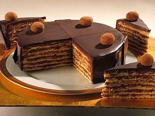 Me Encanta el Chocolate: Torta de Chocolate y Dulce de Leche en capas