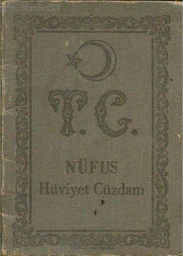 Eski Nüfus Cüzdanlarımız Kitap Gibiydi :)