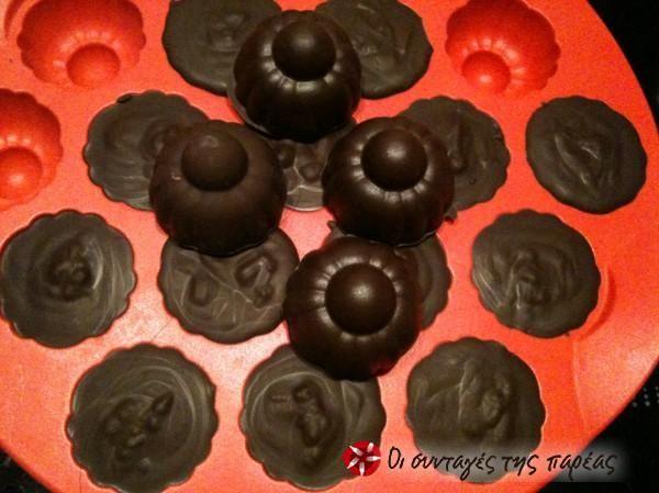 Σοκολατάκια με άρωμα πορτοκάλι #sintagespareas