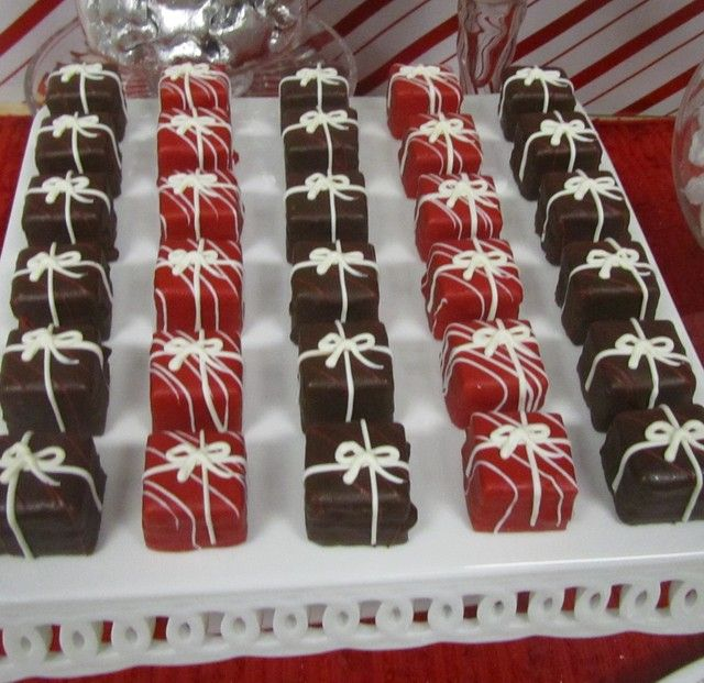 "Photo 6 of 8: Red and White, Candy Cane / Christmas/Holiday ""Office Candy and Dessert Buffet"" 