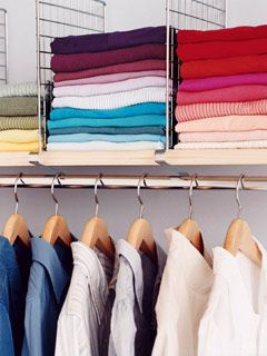 So Hard To Keep Closet Shelves Tidy.Divider Shelves For Organized Sweaters  And Shirts   Top 58 Most Creative Home Organizing Ideas And DIY Projects