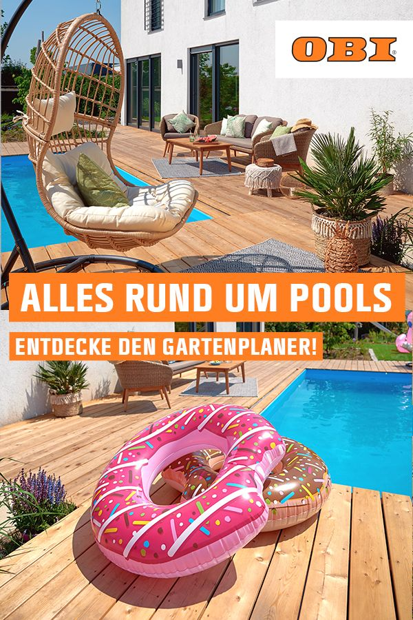 Pool Bauen Gestalten Obi Gartenplaner Pool Kleiner Garten Pool Rechteckig