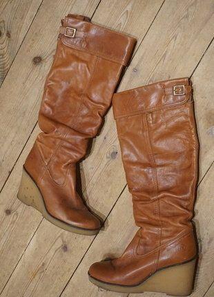 Kaufe meinen Artikel bei #Kleiderkreisel http://www.kleiderkreisel.de/damenschuhe/stiefel/140441955-chice-stiefel-im-vintage-style-original-70er