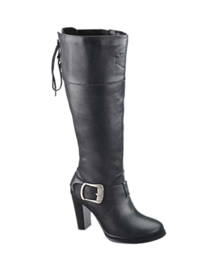 black boot eagle motorcycle womens