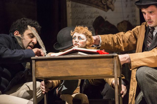 Cast  Scrooge - Jim Broadbent Adeel Akhtar Amelia Bullmore Keir Charles Samantha Spiro Jack Parker Kim Scope Show Date: Wednesday 16th December 2015 (2pm)