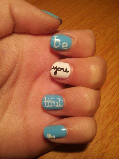 Beautiful nail art ♥♥♥