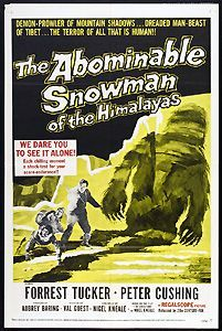 The Abominable Snowman of the Himalayas (1957) Forrest Tucker, Peter Cushing