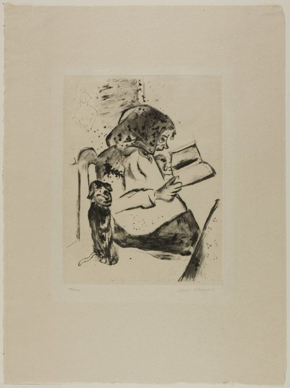 The Grandmother, plate four from Mein Leben | The Art Institute of Chicago