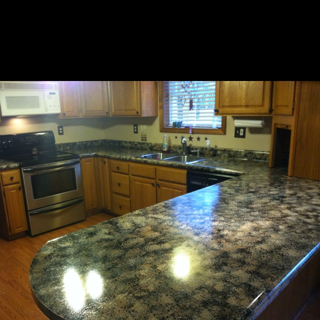 Countertop paint! Decorating (Re-modeling) Pinterest