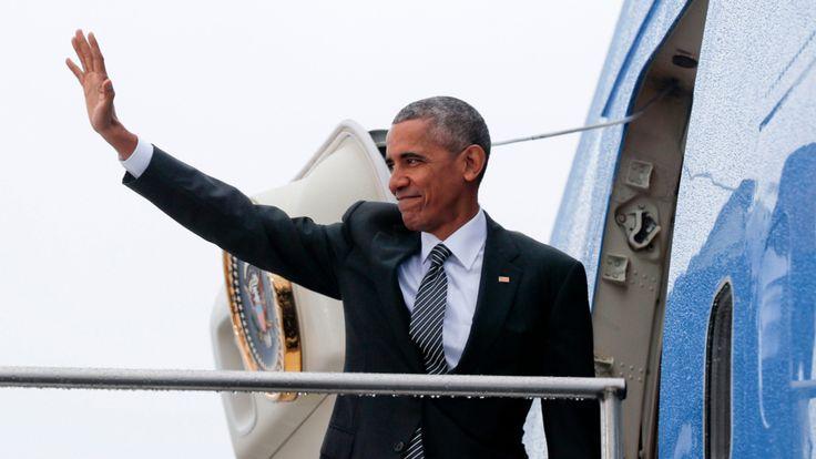 Es war sein letzter Deutschland-Besuch als US-Präsident: Barack Obama (55) hat sich am Freitagmittag von Berlin und Kanzlerin Merkel…