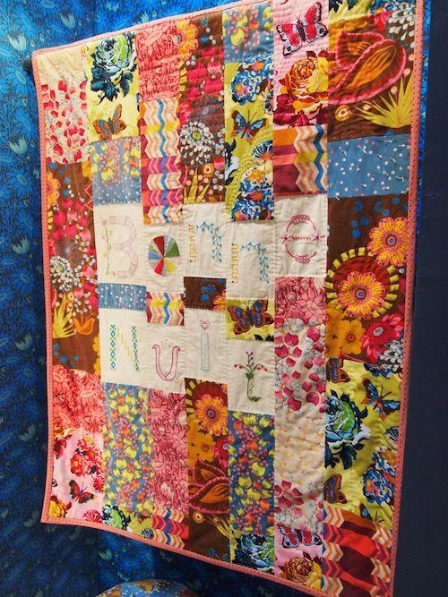 quilt in Anna Maria Horner fabrics