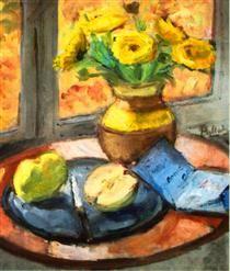 Yellow Flowers - Theodor Pallady