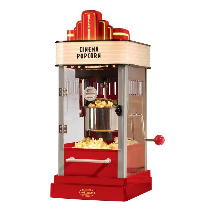 Hollywood Kettle Popcorn Maker, Red
