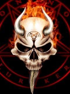 Evil Skull Wallpaper #...