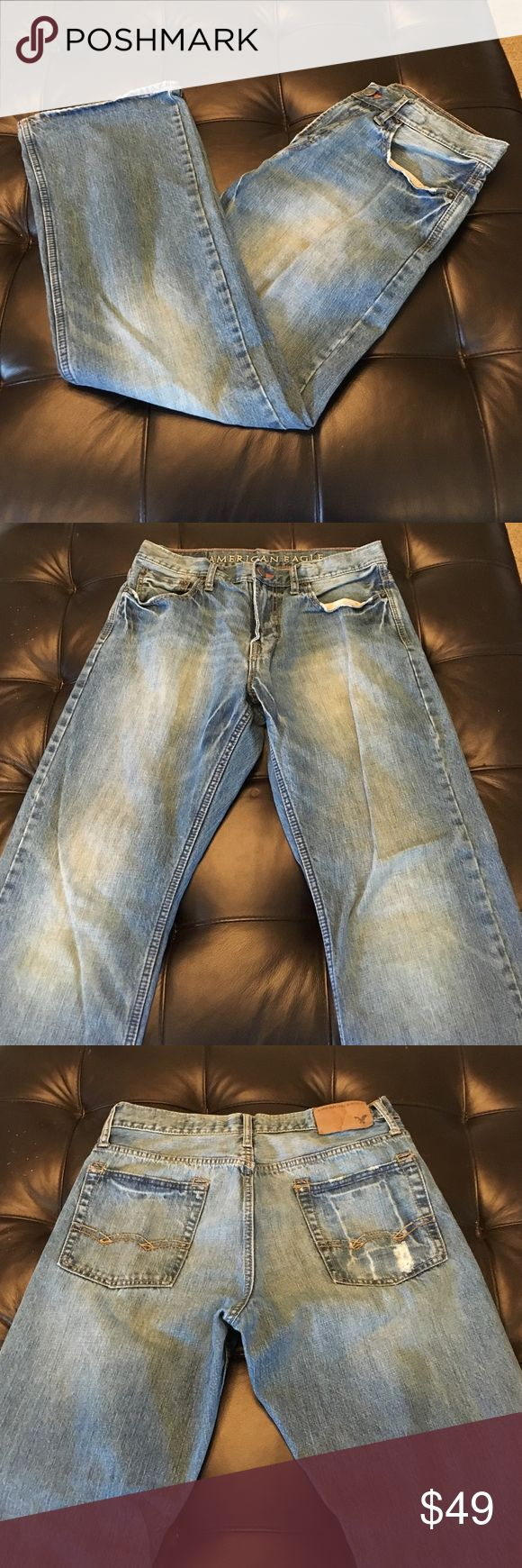 🍃SALE🍃 American Eagle Men's Bootcut Jeans They are a size 32/32 and have been worn a few times. They are men's jeans. American Eagle Outfitters Jeans Bootcut