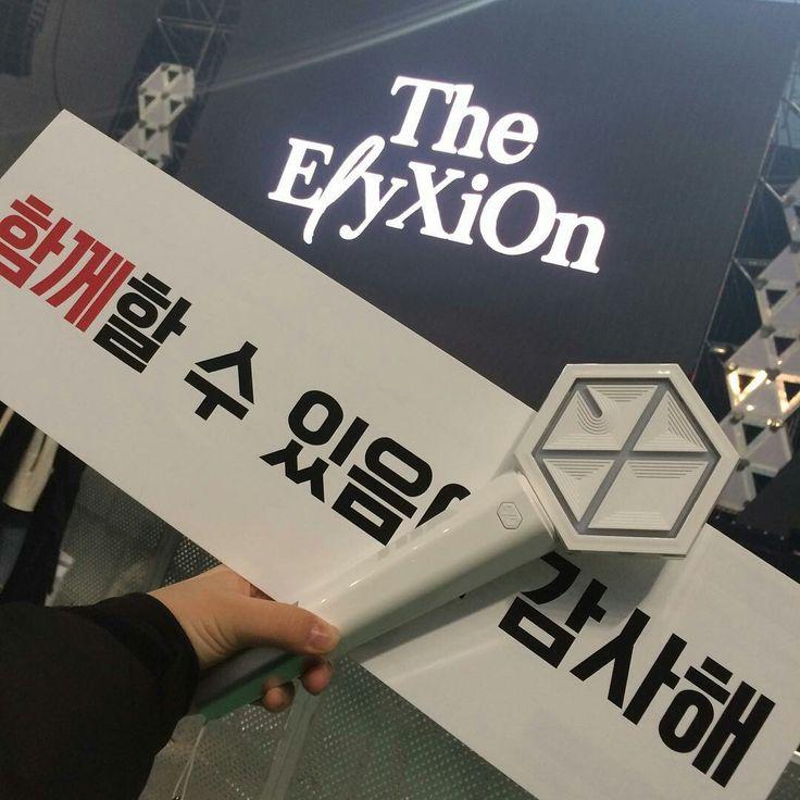 171126 TheElyXiOn in Seoul  #EXO #exolighstick