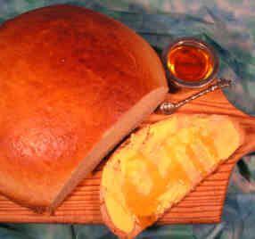 Ethiopian honey bread.