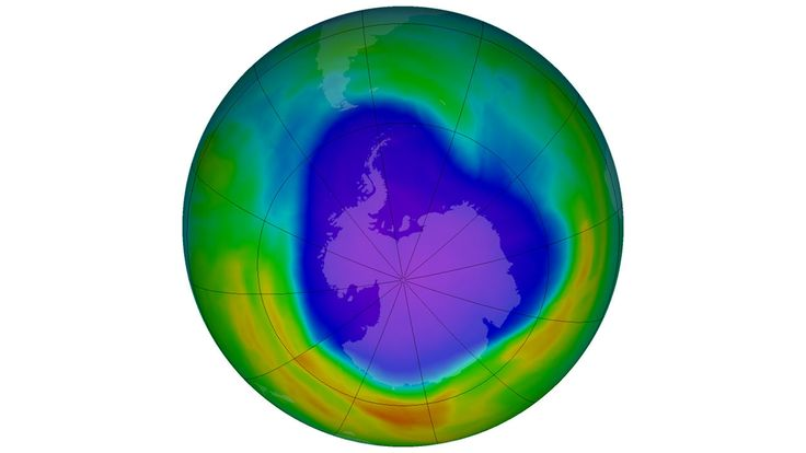 New threat to ozone layer found.  Rising emissions of chlorine-bearing chemical could delay ozone hole healing by decades.