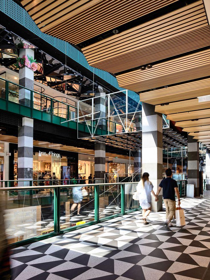 Melbourne Central Arcade & Bridge — Kennedy Nolan
