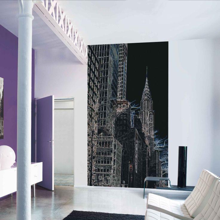 Décor panoramique big apple new york http www deco et